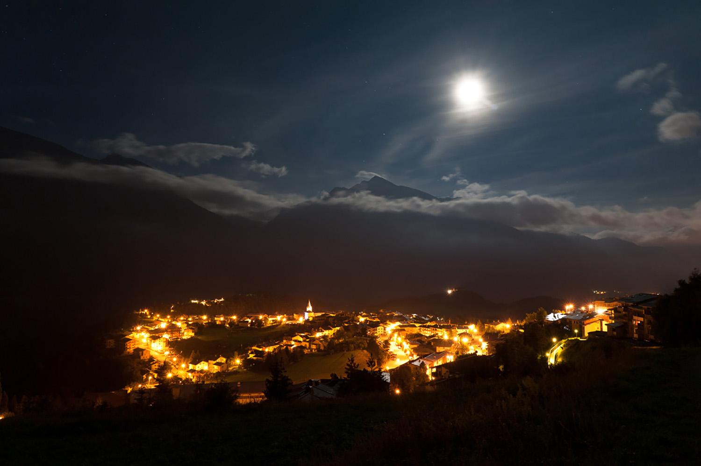aussois de nuit